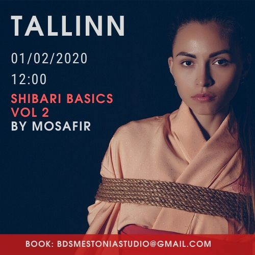 Shibari workshop in Tallinn by Mosafir